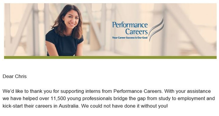 Careers for Interns