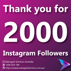Image of 2000 followers