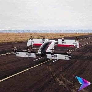 Image of a drone taxi