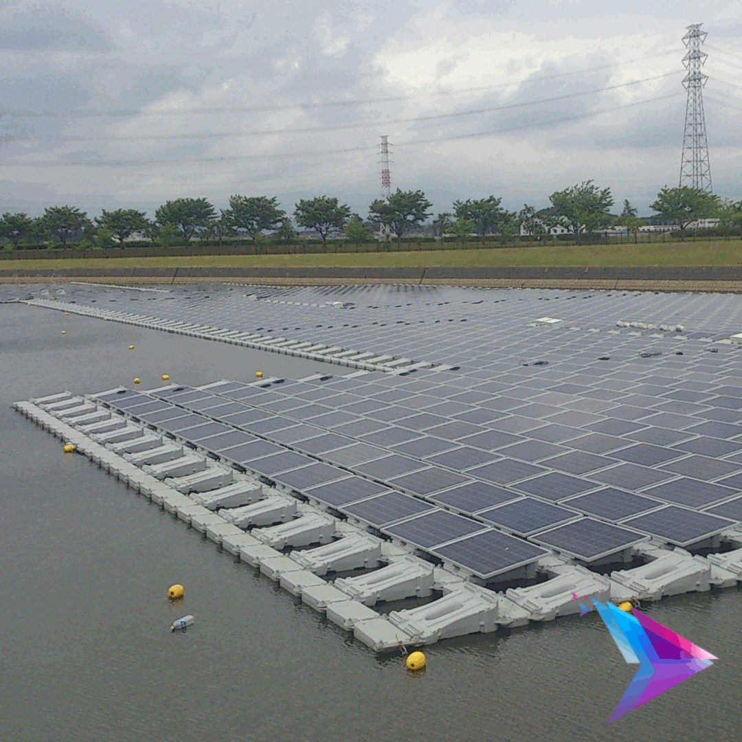 Image of a solar farm.