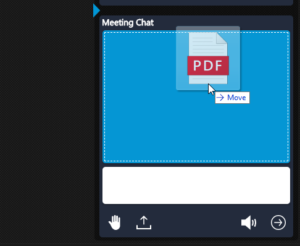 Image of a file being shared in a 3CX WebMeeting.