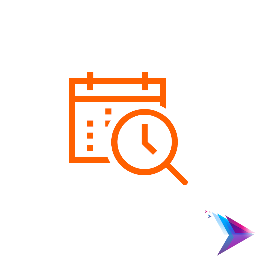 Image of find time icon.